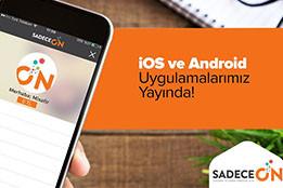 sadeceon-mobil uygulama